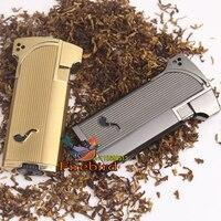 Jobon Windproof Metal Cigarette Cigar Smoking Pipe Lighter