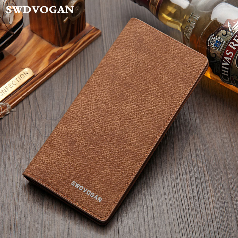 Soft Men's Purse Card Holder Wallet Male Vinatge Mens Purse Wallet Slim Long Male Purse Money Bag Clutch Wallets Bifold Carteras anime fairy tail wallet cosplay school students money bag children card holder case portefeuille homme purse wallets