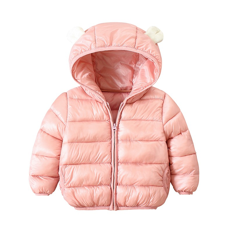 Jacket, Girls, Baby, Hooded, Warm, Candy