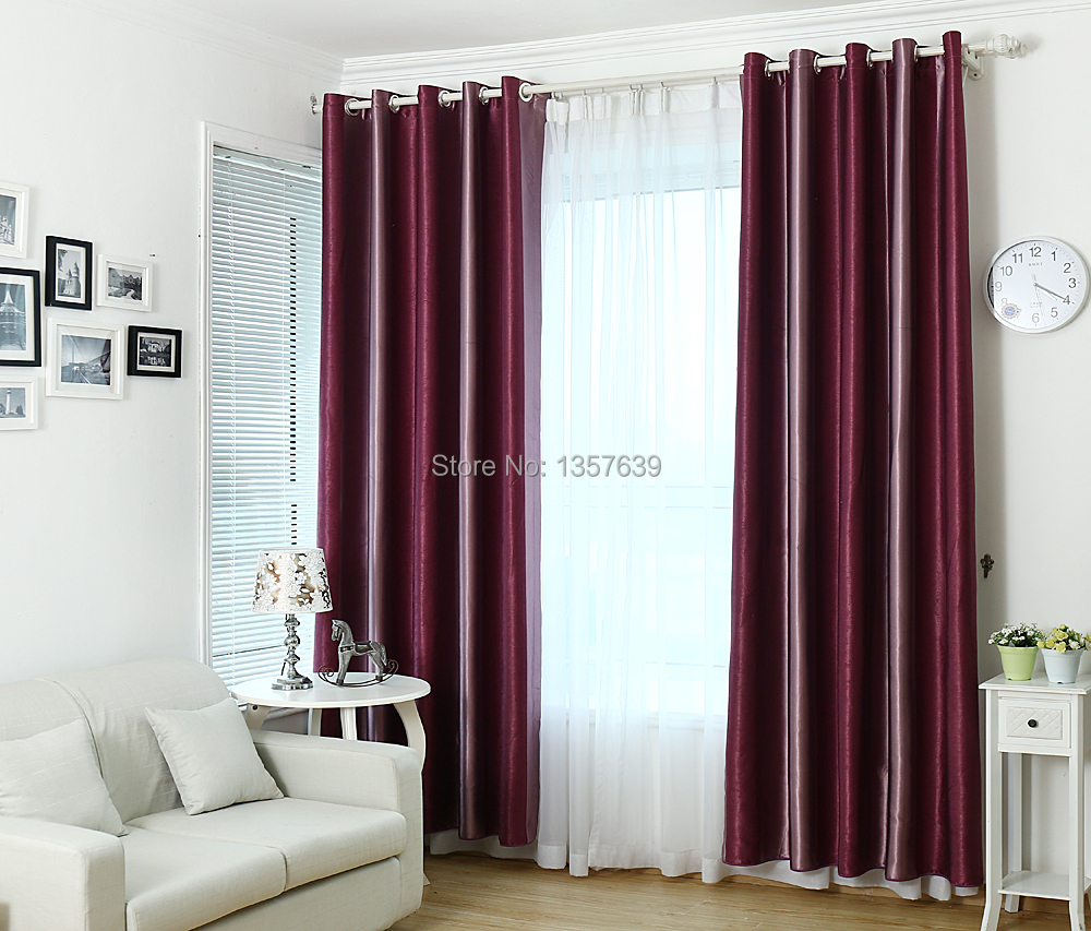 curtain lzy blackout fabric pink curtains drape index of rose