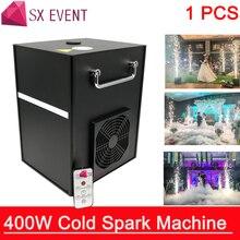 400 Вт холодная Искра фейерверк машина для свадебного торжества Dmx и пульт дистанционного управления Искра фонтан сверкающая машина для сцены