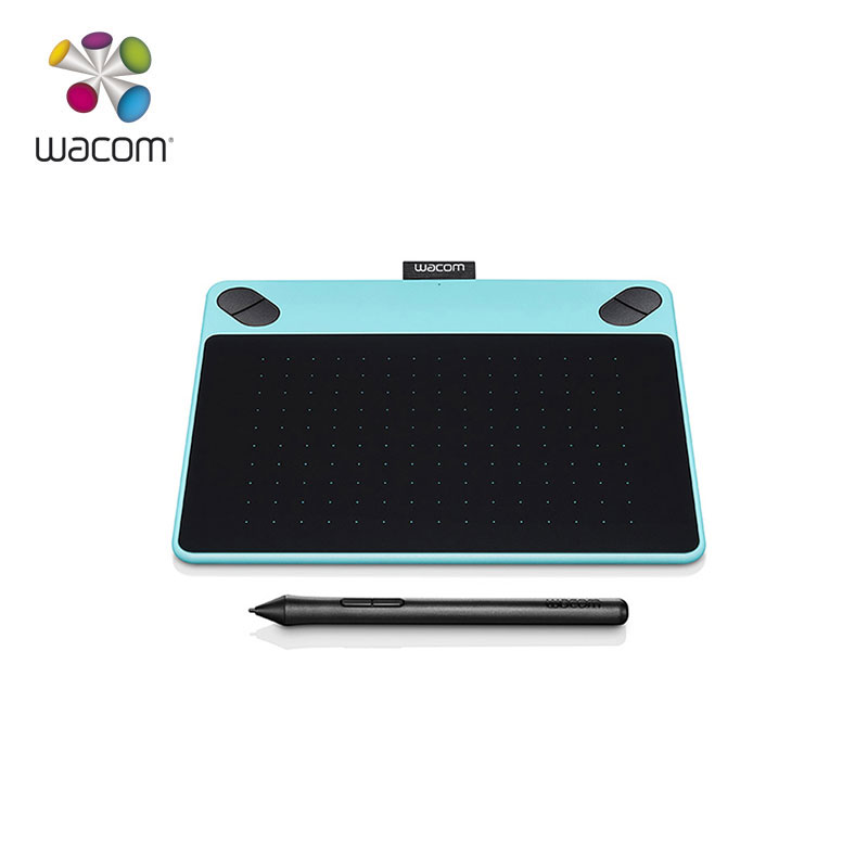 US $81 92 20% OFF|1 Year Warranty Wacom Intuos Draw Tablet CTL 490 Digital  Graphic Drawing Tablet Pad 2048 Pressure Levels(Blue)+10Pcs Nibs-in Digital