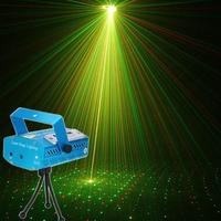 Remote Control Laser Lamp Disco Mini Voice Mini Star RGB Led Par KTV Light US UK
