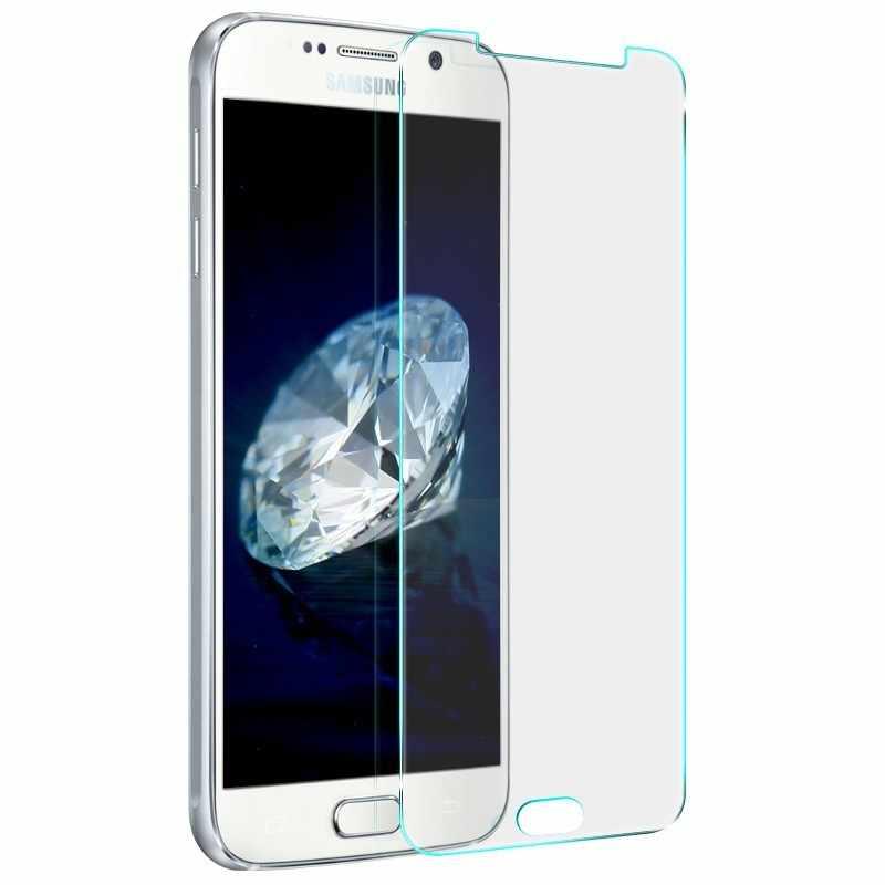 الجملة قسط الزجاج المقسى ل samsung GalaxyA3 A5 A7 A8 J5 J7 2016 9 H 2.5D واقي للشاشة ل samsung J3 j5 2015