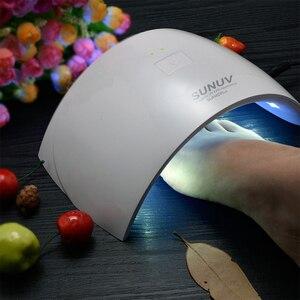 Image 5 - SUNUV UV lambası 36W SUN9C artı 24W SUN9c LED tırnak kurutucu kür tırnak jelleri lehçe manikür tırnak sanat araçları