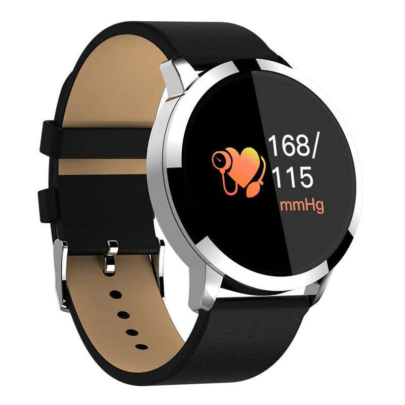 0.95 inch OLED Color Screen Blood Pressure Monitor Heart Rate Smart Watch for Android iOS Sport Band Bracelet  Home Health Care0.95 inch OLED Color Screen Blood Pressure Monitor Heart Rate Smart Watch for Android iOS Sport Band Bracelet  Home Health Care