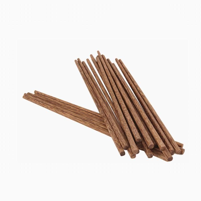 Dunfa 500 Pairs Natuurlijke Hoogwaardige Houten Eetstokjes Gezondheid Servies Milieuvriendelijke Log Eetstokjes Voor Keuken Bar