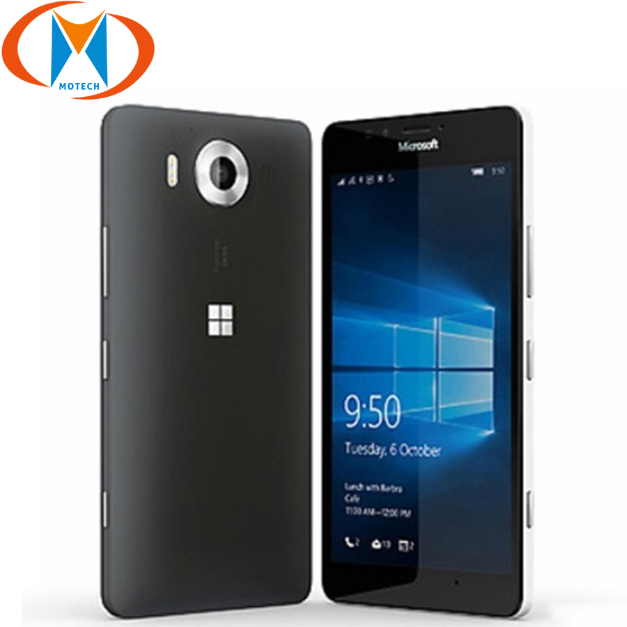 Brand New Original EU Version <font><b>Nokia</b></font> Microsoft Lumia 950 Rm-1104 Mobile <font><b>Phone</b></font> 5.2