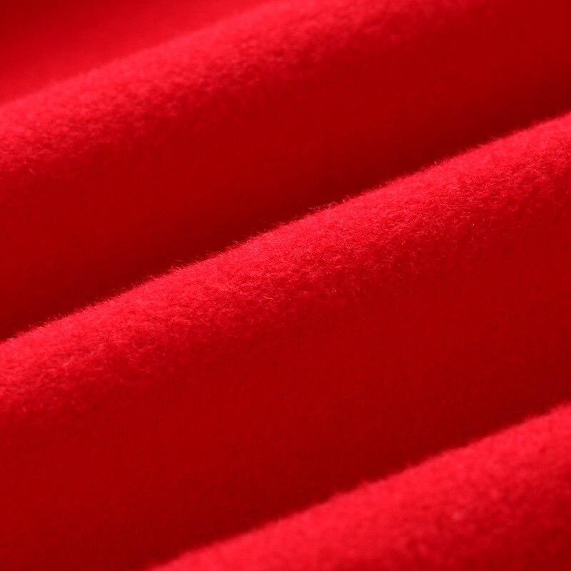 Double Mélanges Haute Occasionnel Poitrine Face Rouge Bas Le Tournent 90 Femelle De Manteau Laine Femmes Couture Fendue Long Vers Lâche Cachemire 6dxzc0qw