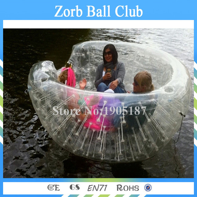 Free Shipping PVC Inflatable Coconut Balls, Inflatable Beach Cocoon For Kids And Adults