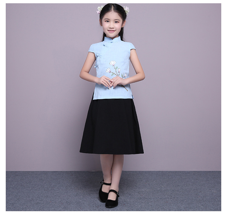 2017 autumn little princess guantao traditional hanfu tv play scheme of the beauty pink han costume for little girl thick design the grand scribe s records v 1 – the basic annals of pre–han china