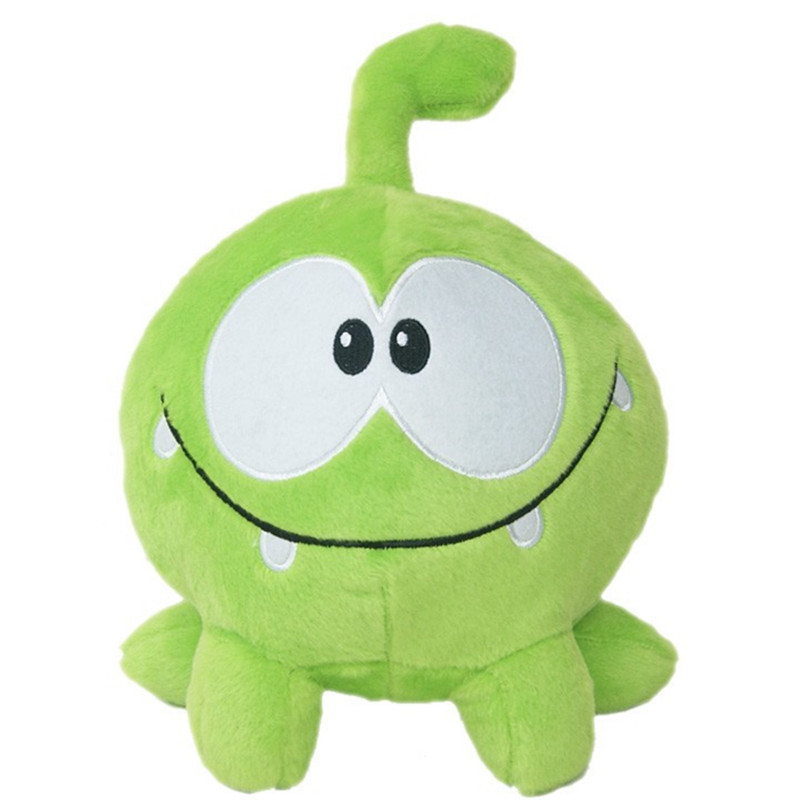 1pc 20cm Hot Game Cartoon Cut The Rope Om Nom Frog Stuffed Animal Plush Toys Kids Toys Children Collection Gift