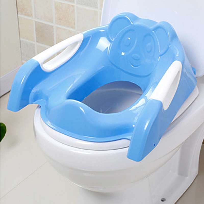 Baby Toilet Seat Folding Toilet Trainer Seat Chair Step with Adjustable Ladder цены