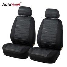 AUTOYOUTH Przednie Siedzenia Samochodu Obejmuje Airbag Kompatybilny Uniwersalny Pasują Do Większości Akcesoria Samochodowe samochodów SUV Samochód Seat Cover dla Toyota 3 kolor
