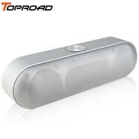 Enceinte Bluetooth Portable TOPROAD haut-parleur son stéréo sans fil Boombox haut-parleurs avec Support micro TF AUX FM Radio USB Altavoz enceinte
