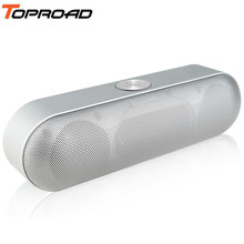TOPROAD Portable Bluetooth Speaker Wireless Stereo Sound Boombox Speakers with Mic Support TF AUX FM Radio USB Altavoz enceinte(China)