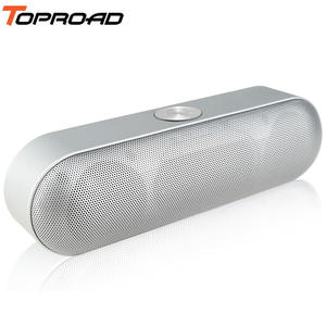 TOPROAD Portable Bluetooth Speaker Wireless Stereo Sound Boombox Speakers with Mic