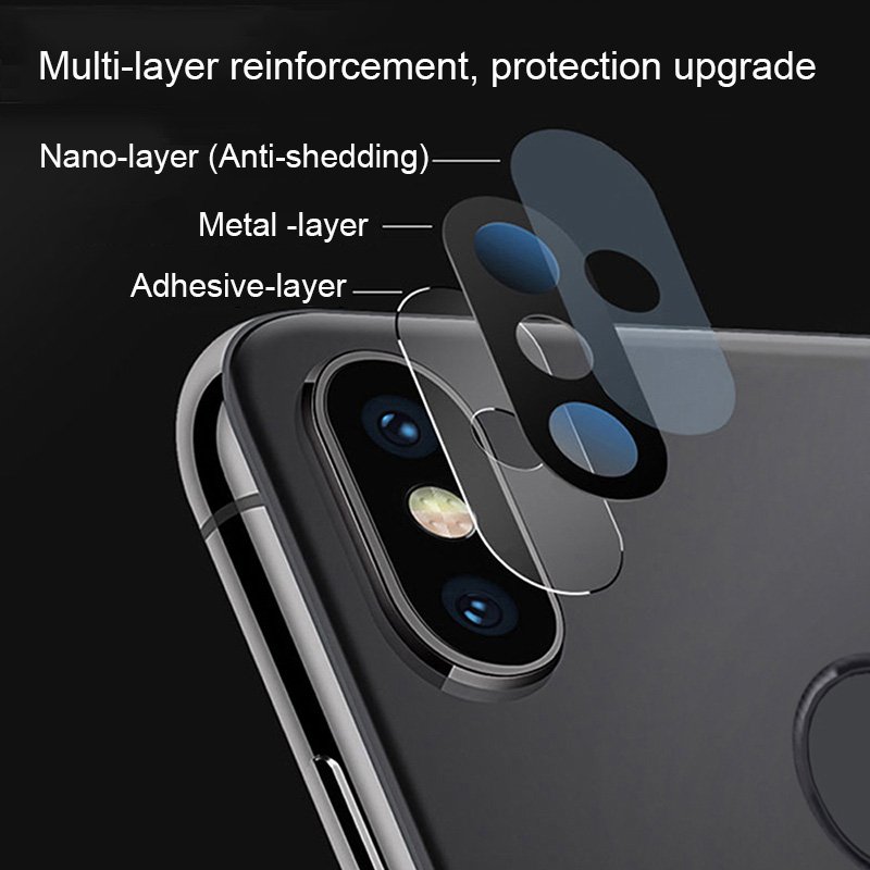 Camera Lens Protective Ring For Xiaomi Mi A2 8 SE Metal Real Mobile Phone Camera Lens Protector Cover Case For Xiaomi Mi 8 A2