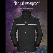 где купить Raincoat Motorcycle Split of Adult Men and Women Fashion Outdoor Waterproof Raincoat Rain Pants Suit Riding Fishing Jacket XX16 по лучшей цене