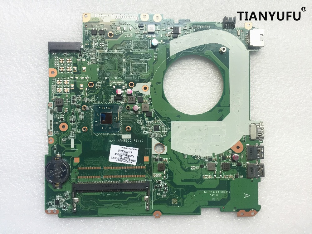 Free shipping For HP PAVILION 17 F230CA Laptop Motherboard 787484 501 787484 001 N3540 DAY12EMB6C0 Motherboard