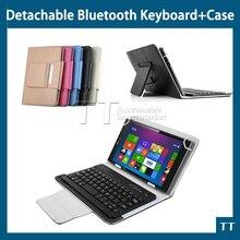 """Caja del teclado de Bluetooth para Asus me581c 8 """" Tablet pc, para Asus me581c teclado Bluetooth + protector de pantalla gratuito + touch pen"""