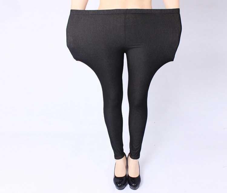 free-shipping-plus-size-women-jeans-pants-heavy-lady-fashion-immitation-denim-pant-elastic-large-pencil (1)