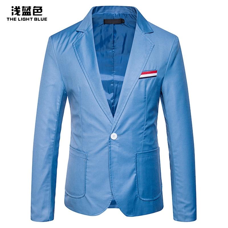 FUMUD 2018 New Fashion Party Fight Color Casual Small Suit Jacket Casual Business Suit Jacket Veste Homme Costume Groom Suit Men