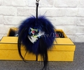 Fox Fur Monster Bag Bugs European Popular Women's Bag Ladies Bags Charms