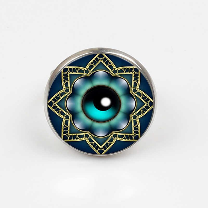 ZBOZWEI 2018 ตุรกี evil eye เครื่องประดับแหวนแหวนเงินชาย chokers แหวนผู้หญิง