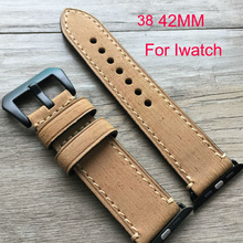 38mm 42mm apple watch band Special Design leather watch strap For man and women Iwatch Apple