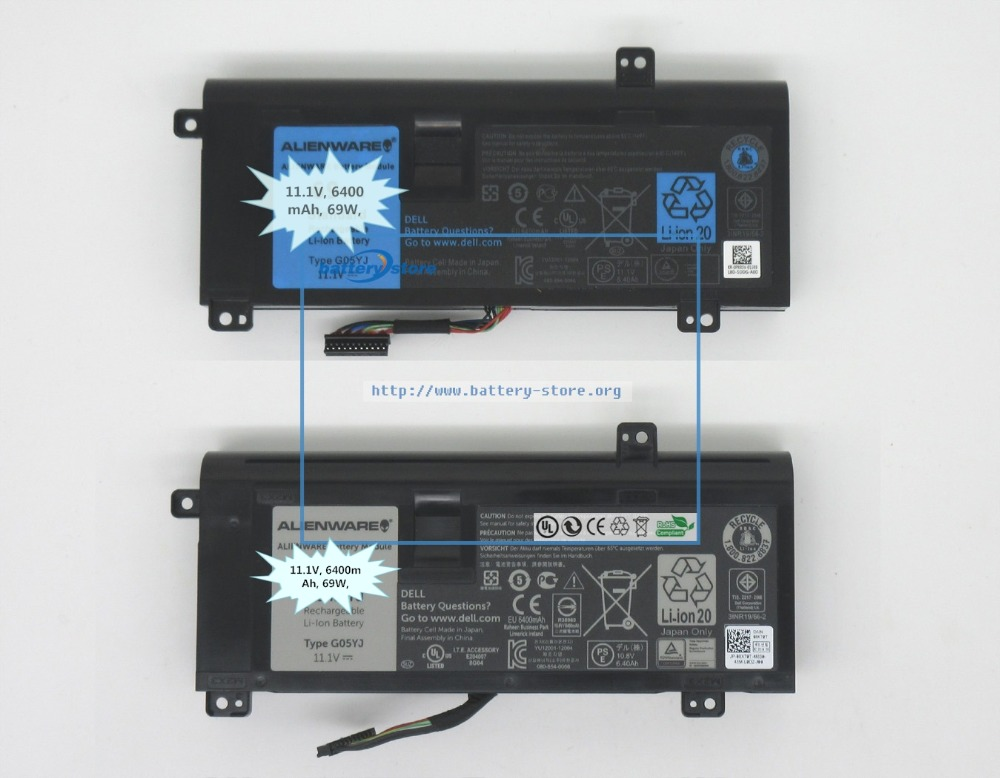 top 8 most popular dell alienware m14x battery brands and