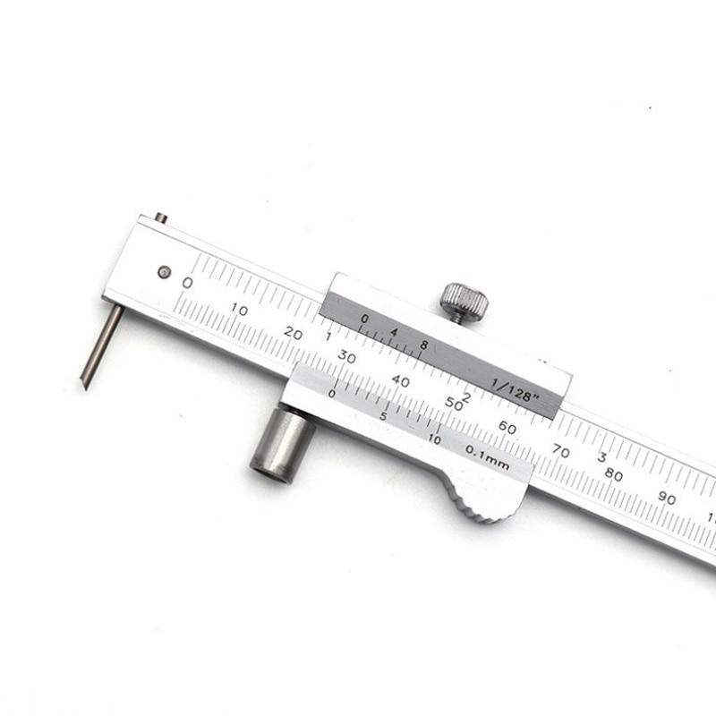 URANN 0~200mm Parallel Ruler Vernier Caliper 0.01mm Metal Calipers Gauge Micrometer Measuring Tools