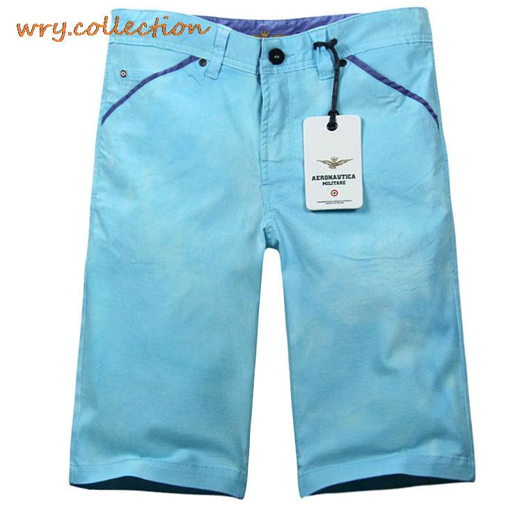 AERONAUTICA MILITARE CARGO, candy blue color shorts,fashion short,middle trousers plus size S-XXL free shipping charter club new navy blue women s size 14 seamed two pocket cargo shorts $40