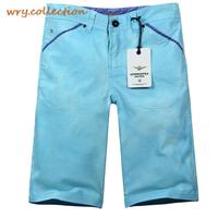 AERONAUTICA MILITARE CARGO Candy Blue Color Shorts Fashion Short Middle Trousers Plus Size S XXL Free