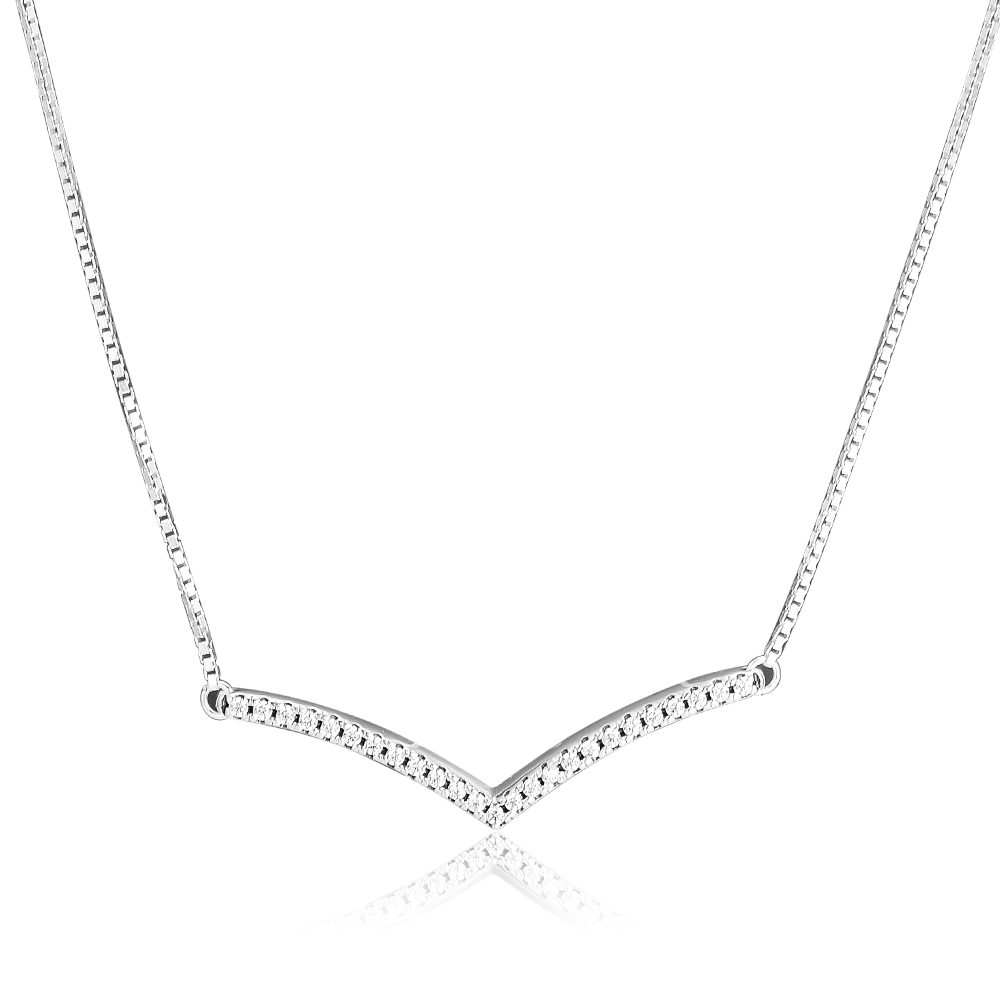 Pendant Necklaces & Pendants Shimmering Wish Necklace 925 STERLING SILVER JEWELRY Choker Joyas De Plata 925 Women Men Gift