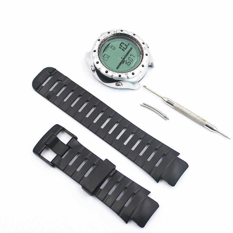 Watch Accessories Rubber Band Strap For Fits Suunto X Lander Warriors Seal Blitz Outdoor