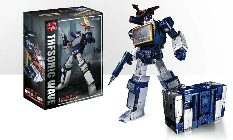 Transformers: transformers: the transformers version of the mp-13 day version of the master sonic wave day edition crusade vol 3 the master of machines