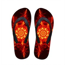 Nopersonality New Fashion Design Men Slippers Men's Strange Art Printed Cool Flip Flops For Man Hokage Ninjia Flats Casual Shoes