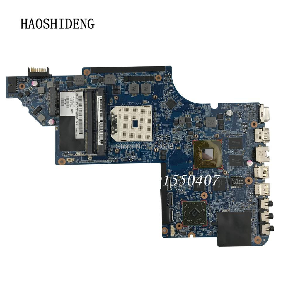 HAOSHIDENG 666520-001 mainboard for HP PAVILION DV7 DV7-6000 DV7Z-6000 laptop motherboard HD6750/1G .All fully Tested! автомобильная лампа h9 65w 1 шт philips