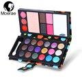 18 Colores de Maquillaje Profesional Paleta de Sombra de ojos de la Ceja Cosméticos Lápiz Labial En Polvo Colorete Shimmer Mate Sombra de Ojos Colores de Tierra