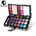 18 Colors Professional Makeup Eyeshadow Palette Eyebrow Blusher Powder Lipstick Cosmetics Shimmer Matte Eyeshadow Earth Colors