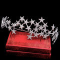 star hairbands bride tiaras and crowns wedding  crown rhinestone bridal wedding hair accessories hair jewelry