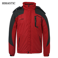Men Winter Jacket Thick Outwear Windbreaker Jackets Mens Outwear Parka Homme Jaqueta Masculina Men S Casual