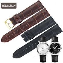 Ремешок isunzun из натуральной кожи для мужских и женских часов