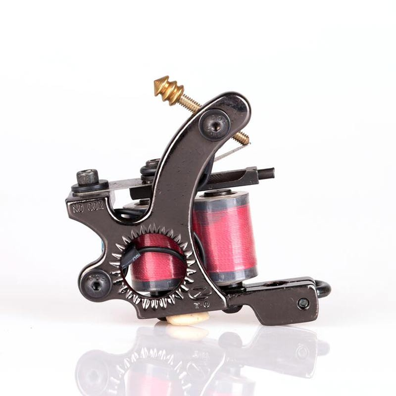Besta 10 Warp Coil Tattoo Machine For Shader&Liner Tattoo Machine Gun High Quality Tattoo Power Supply besta high quality alloy foot switch pedal tattoo machine gun power supply tattoo footswitch free shipping
