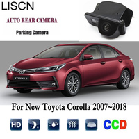 Rearview Camera For New Toyota Corolla 2007~2018 CCD Night Vision Reverse Backup Camera/Rear View Camera license plat Camera