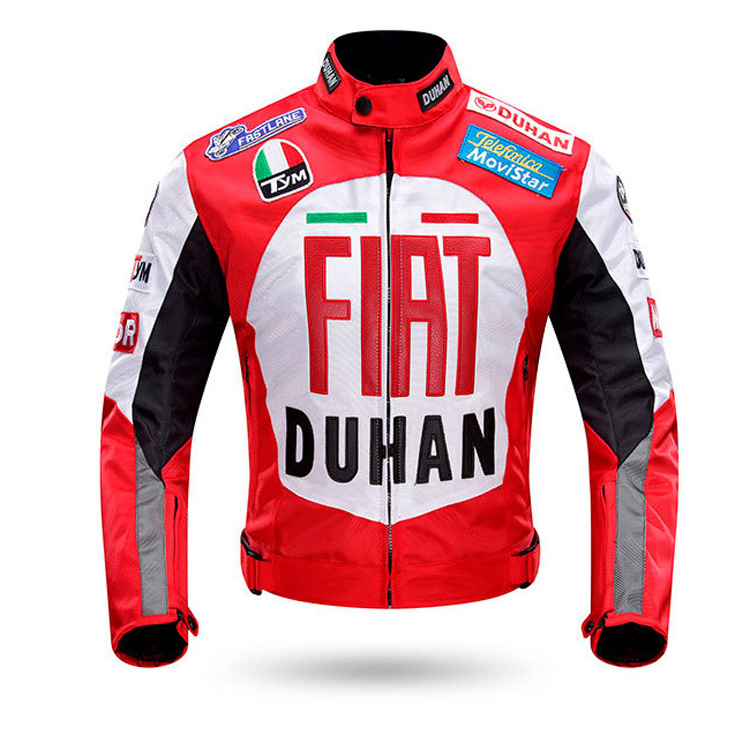 Motorcycle racing suit motorcycle anti falling suit FIAT cross country motorcycle riding apparel summer 082