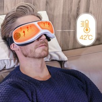 Eye Massager Wireless Portable & Rechargeable Healthy Relax Eye Care Machine Mask for Dry Eye Eyestrain Fatigue Relief