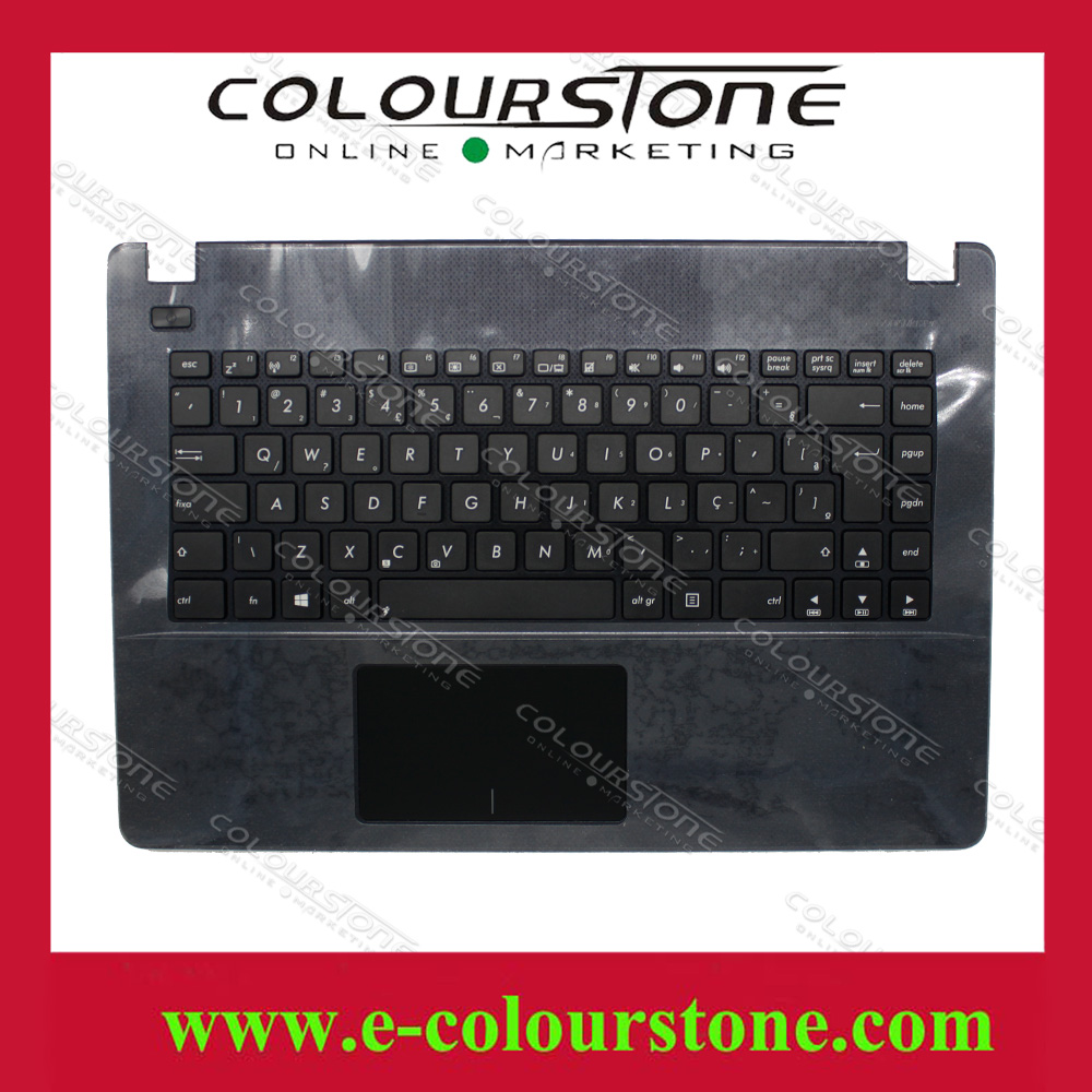 Brand new Brazil Teclado Palmrest Cover keyboard for ASUS X451 X451E X451M X451C X451E1007CA topcase AEXJB600110 laptop keyboard