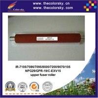 (RD FR7086F) heating upper fuser roller for canon iR7105 ir7086 ir7095 ir8500 ir7200 ir9070 ir105 iR 7105 ir 7086 ir 7095 red